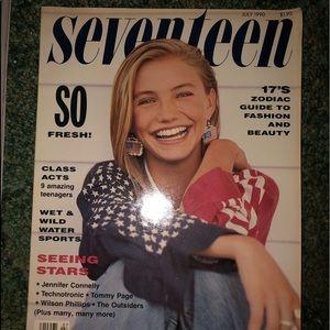 1990 JULY issue SEVENTEEN Magazine